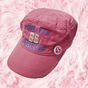 Victoria's Secret Love Pink Hat